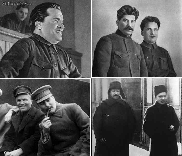 Сергей Киров и Иосиф Сталин.